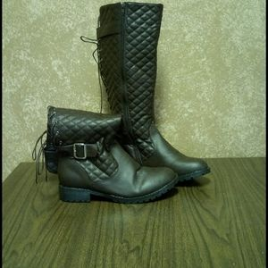Ca Collection Leather Boots